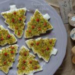 Tartine natalizie, un antipasto sfizioso per  il pranzo