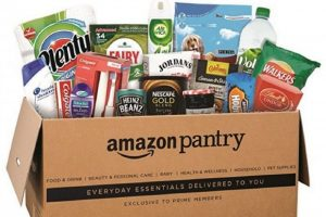Amazon Pantry, cos'è e come funziona questa piattaforma